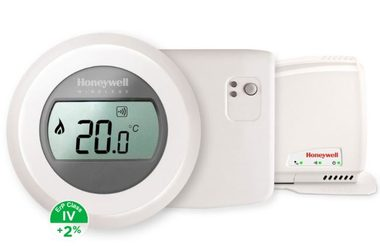 Honeywell Evohome Round Home Connected Y87RFC2074 / sada termostat, relé a gateway / +2% ErP IV