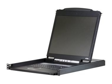 "ATEN Console / 19"" LCD /  rack 19"" / klávesnice / touchpad"