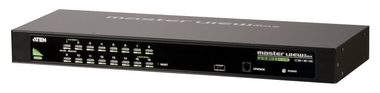 "ATEN 16-port KVM PS2+USB / OSD / rack 19"" / kombo konzole"