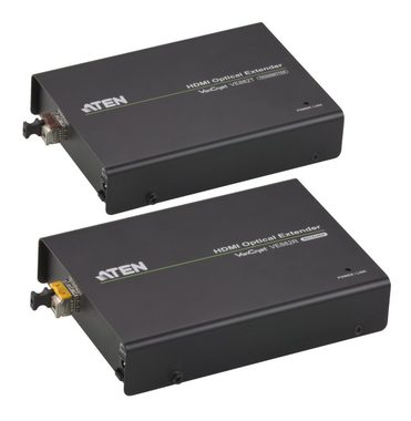 ATEN HDMI Extender po optickém vlákně do 600m / 3D / IR / RS-232