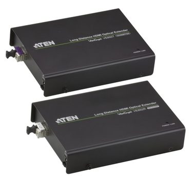ATEN HDMI Extender po optickém vlákně do 20km / 3D / IR / RS-232