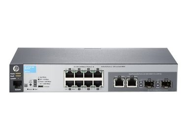 HP Aruba 2530 8G Switch / 8x 100/1000 RJ45 portů + 2x Combo porty