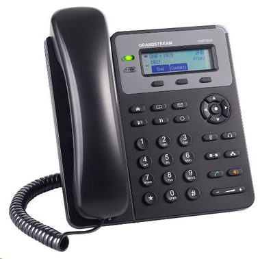 Grandstream GXP1610 / VoIP telefon / 1x SIP účet / HD audio / 3 program.tlačítka / switch 2xLAN