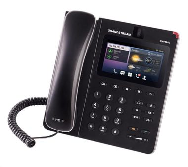 "Grandstream GXV3240 / IP video-telefon s Androidem / PoE / WiFi / 4.3"" dotykové LCD / mini HDMI / SD card / USB"