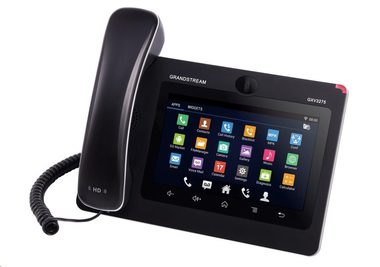 "Grandstream GXV3275 / IP video-telefon s Androidem / PoE+ / WiFi / 7"" dotykové LCD / mini HDMI / SD card / USB"