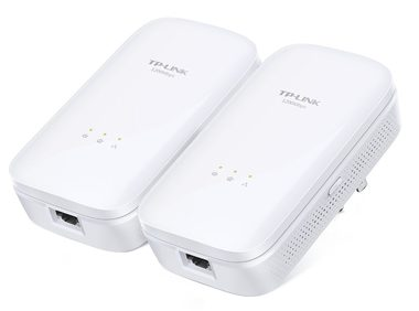 TP-LINK TL-PA8010KIT / Powerline Kit / 1200Mbps / 1xGLAN / bílá