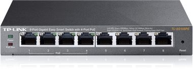 TP-LINK TL-SG108PE / Switch / 8-Port POE Easy Smart Switch