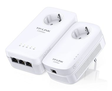 TP-LINK TL-WPA8630P Starter Kit / AV1200 Gigabit Powerline ac Wi-Fi Kit / 1200Mbps / 3xLAN / WiFI
