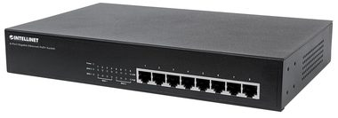 Intellinet Switch 8x GE Desktop PoE+ / 8-port / 1000 Mbps / 8x PoE+ / 19""
