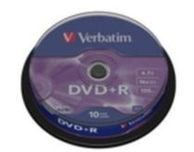 Verbatim 10ks DVD+R 4.7GB 16x / Spindl