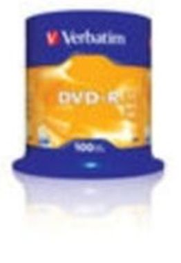 Verbatim 100ks DVD-R 4.7GB 16x / Spindl