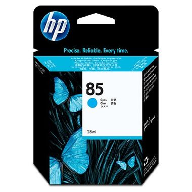 HP C9425A No. 85 Cyan Ink Cart pro DJ 30/130, 28 ml