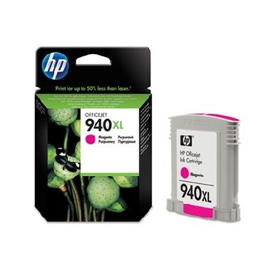 HP C4908AE Ink Cart No.940XL pro OJ Pro 8000, 16ml, Magenta
