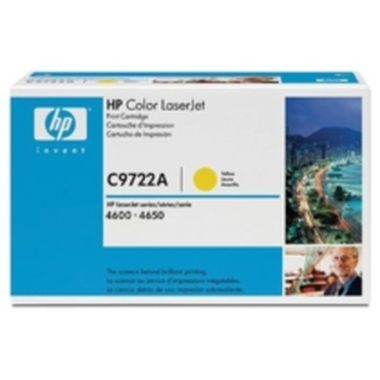 HP C9722A Toner 641A pro Color LJ 4600, (8000str), Yellow