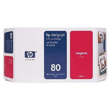 HP C4847A originální cartridge / HP DesignJet / 350 ml / Magenta