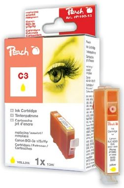 Peach C3 alternativní cartridge / 13 ml / žlutá