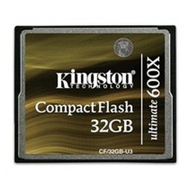 Kingston Compact Flash Ultimate 600x 32GB / 90MB/s čtení / 90MB/s zápis / výprodej