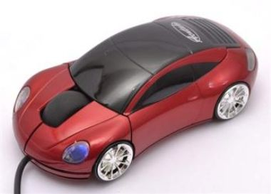 ACUTAKE Extreme Racing Mouse R2 (RED) 1000dpi USB version (Porsche)