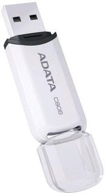 ADATA C906 16GB / Flash Disk / USB 2.0 / bílá