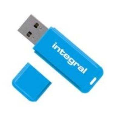 Integral Neon 8GB / Flash Disk / USB 2.0 / modrý