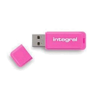 Integral Neon 32GB / Flash Disk / USB 2.0 / růžový