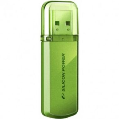 Silicon Power HELIOS 101 / 16GB / Flash disk / USB 2.0 / Hlníkový / Zelený