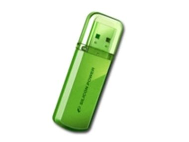 Silicon Power HELIOS 101 / 8GB / Flash disk / USB 2.0 / Hlníkový / Zelený