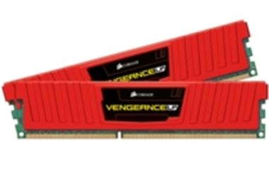 Corsair Vengeance Red 8GB DDR3 1866Mhz / 2x4GB KIT / CL9 / 1.5V / low profile