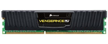 Corsair Vengeance Black 4GB DDR3 1600MHz / 1x4GB KIT / CL9 / 1.5V / XMP/ low profile