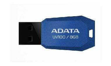 ADATA UV100 8GB / Flash Disk / USB 2.0 / modrá