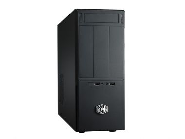 CoolerMaster case minitower Elite 361, mATX,black,bez zdroje(micro/desktop)