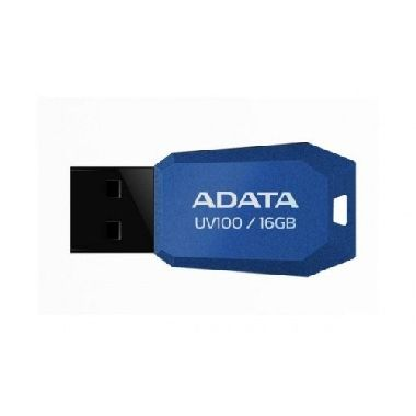 ADATA UV100 16GB / Flash Disk / USB 2.0 / modrá