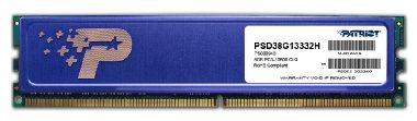Patriot 8GB DDR3 1333MHz / CL9 / 1.5V