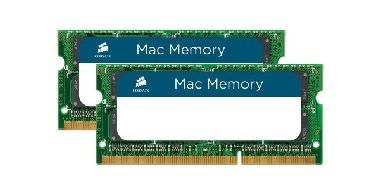 Corsair 16GB SO-DIMM DDR3 1333Mhz / 2x8GB / CL9 / 1.5V / pro Apple