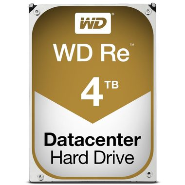 "WD Re 4TB / HDD / 3.5"" SATA III / 7 200 rpm / 64MB cache / 5y"
