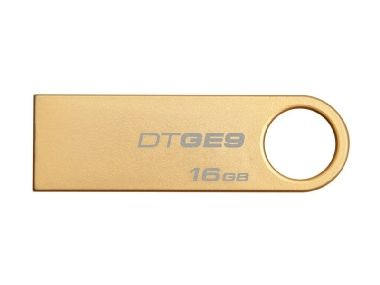 Kingston DataTraveler GE9 16GB / Flash Disk / USB 2.0 / zlatý