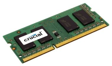Crucial 4GB SO-DIMM DDR3 1600MHz / 1x4GB / CL11 / 1.35V