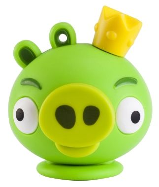 EMTEC A101 King Pig 8GB / USB 2.0 / Angry Birds Series