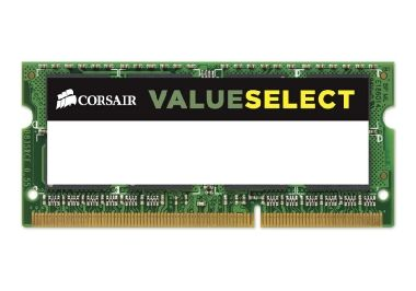 CORSAIR 4GB / KIT 1x4GB / SO-DIMM / DDR3 / 1600MHz / CL11 / 1,5V / pro Notebooky