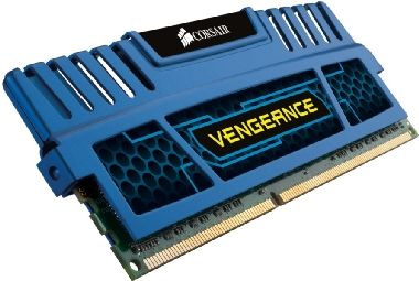 Corsair Vengeance Blue 4GB DDR3 1600MHz / 4GB KIT / CL9 / XMP