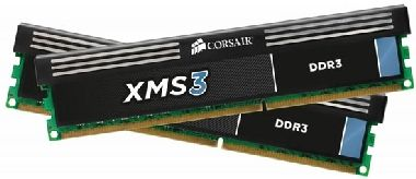 Corsair XMS3 8GB DDR3 1600MHz / 2x4GB KIT / CL11 / 1.5V / XMP