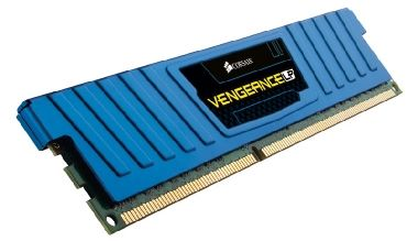 Corsair Vengeance Blue Low Profile 8GB DDR3 1600MHz / 1x8GB KIT / CL11 / chladič / XMP