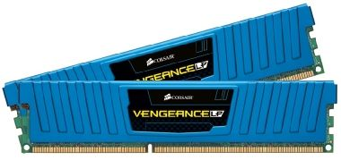 Corsair Vengeance Low Profile 8GB DDR3 1866MHz / 2x 4GB KIT / CL9 / modrý chladič / XMP