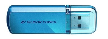 Silicon Power Helios101 / 64GB / Flash Disk / USB 2.0 / Modrý