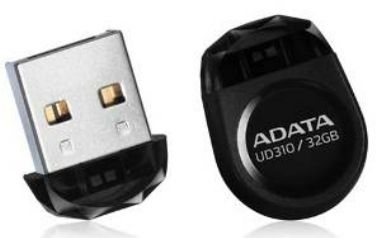ADATA Durable UD310 32GB / Flash Disk / USB 2.0 / černá