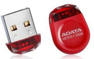 ADATA Durable UD310 32GB / Flash Disk / USB 2.0 / červená
