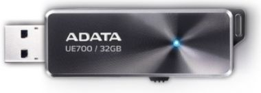 ADATA Elite UE700 32GB / Flash Disk / USB 3.0 / hliník / šedá