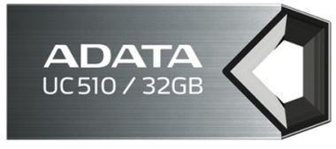 ADATA Choice UC510 8GB / Flash Disk / USB 2.0 / titanová