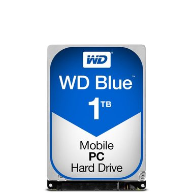 "WD Blue 1TB / HDD / 2.5"" SATA III / 5 400 rpm / 16MB cache / 7mm / 2y"