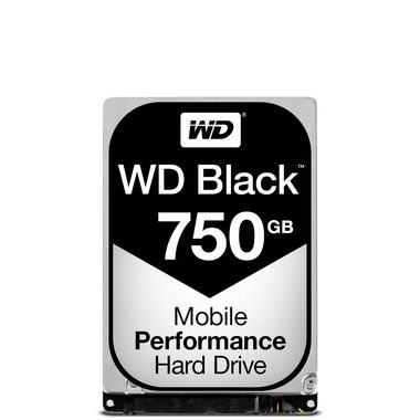 "WD Black 750GB / HDD / 2.5"" SATA III / 7 200 rpm / 16MB cache / 9.5mm / 5y"